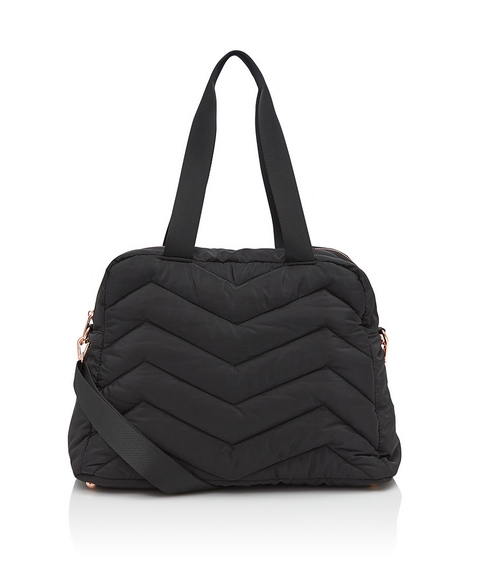 MATTHEW QUILTED OVERNIGHTER BAG