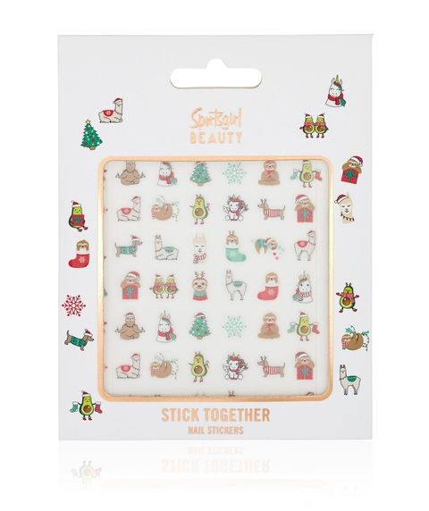 STICK TOGETHER - CHRISTMAS NAIL STICKERS