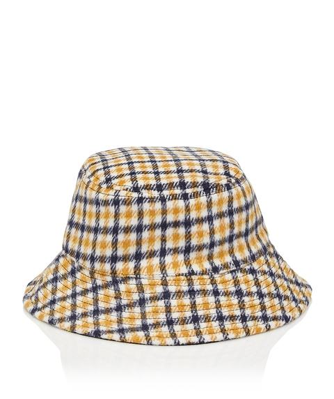 90'S CHECK BUCKET HAT
