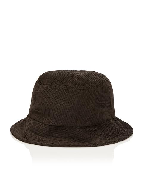 BLACK CORD BUCKET HAT