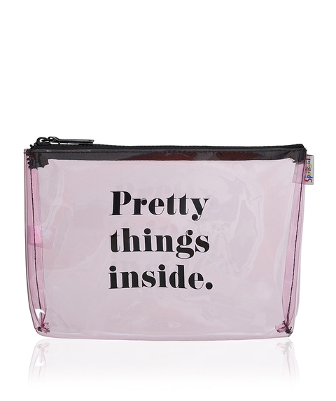 PRETTY THINGS SINGLE ZIPPER BEAUTY BAG
