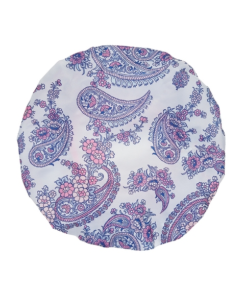SHOWER HOUR - RECYCLED PAISLEY SHOWER CAP