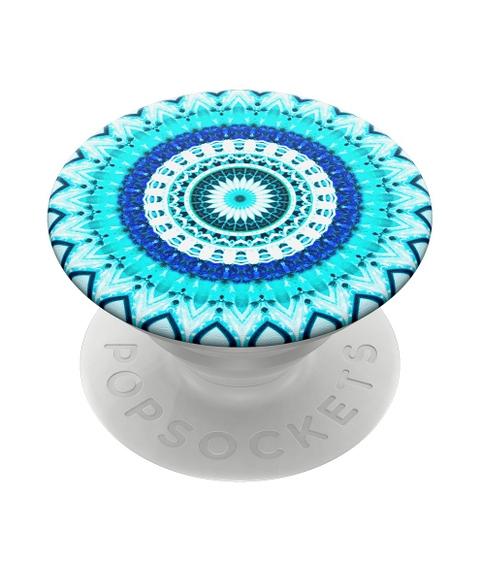 POPSOCKET - BLUE FLORAL MANDALA