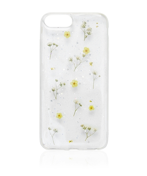 6+/7+/8+ YELLOW DITSY FLORAL PHONE CASE