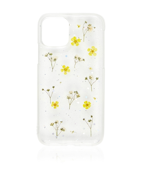 XS/11P YELLOW DITSY FLORAL PHONE CASE