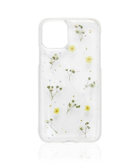 XR/11 YELLOW DITSY FLORAL PHONE CASE