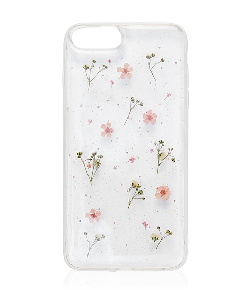 6+/7+/8+ PINK DITSY FLORAL PHONE CASE