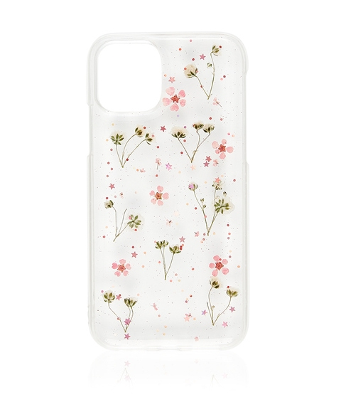 XS/11P PINK DITSY FLORAL PHONE CASE