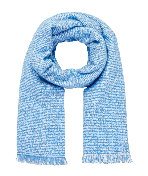 COSY BLUE SPEKLED SCARF