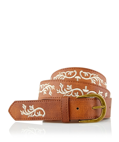 EMBROIDERED WESTERN BELT