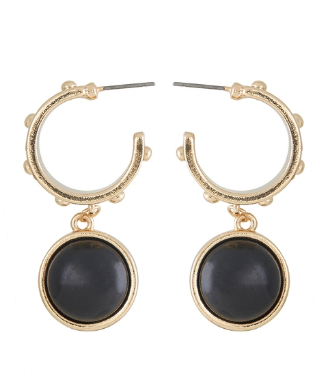 MARINA STONE STATEMENT EARRING