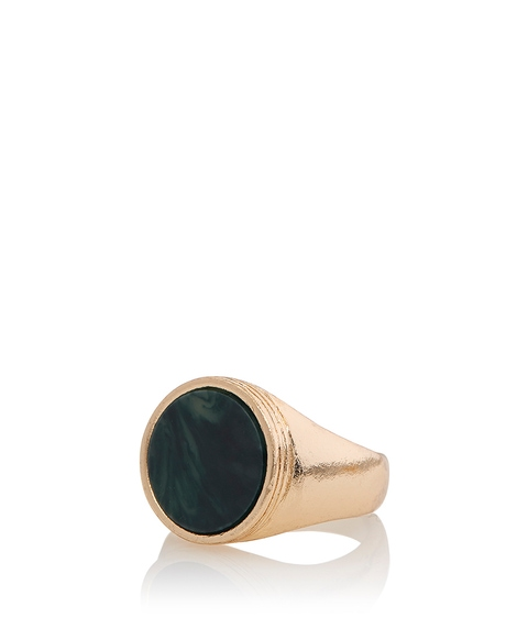 LUNA GOLD STONE RING