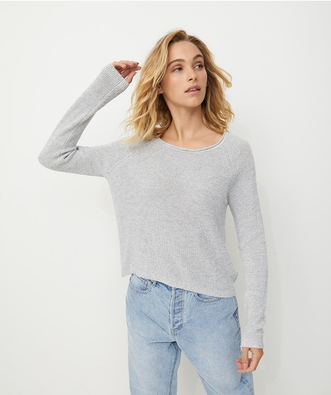 RAGLAN SLEEVE MID LENGTH JUMPER