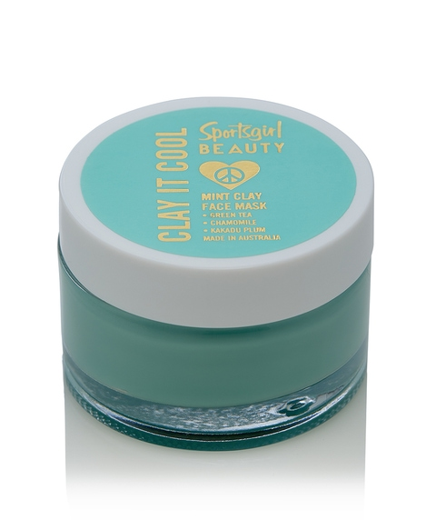 CLAYING IT COOL - MINT CLAY FACE MASK