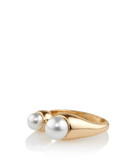 PEARL BALL DETAIL RING