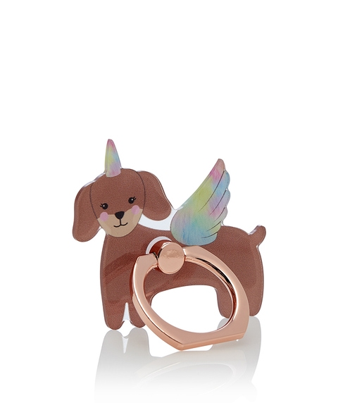 STAND GUARD NOVELTY PHONE RING - SAUSAGE DOG