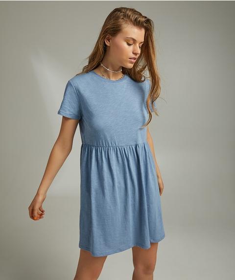 ORGANIC COTTON BABYDOLL TEE DRESS