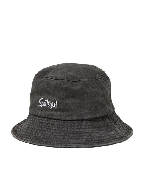 REWIND BUCKET HAT - WASHED BLACK DENIM