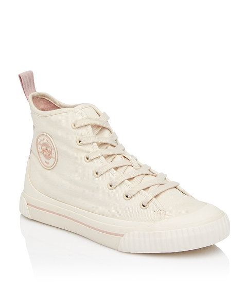 REWIND HIGH TOPS - CREAM