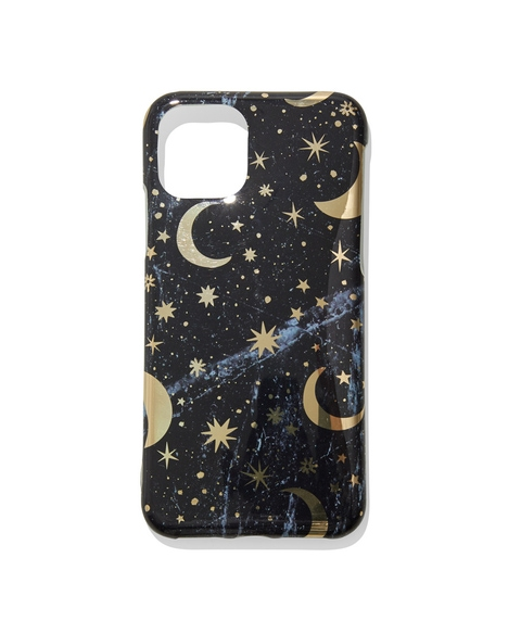 12 FOIL STAR AND MOON PHONE CASE