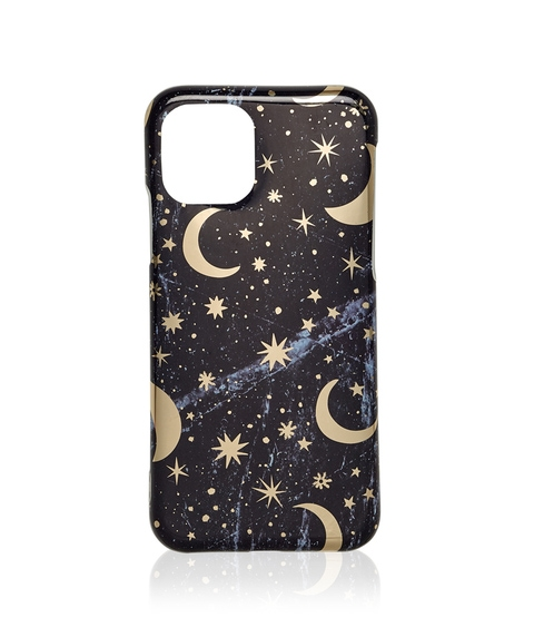 XS/11P FOIL STAR AND MOON PHONE CASE