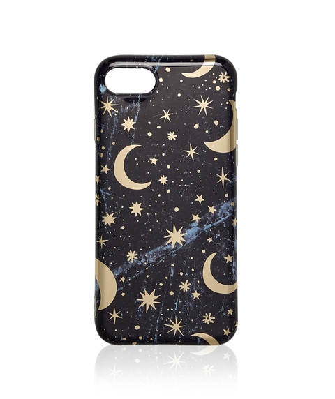 6/7/8 FOIL STAR AND MOON PHONE CASE
