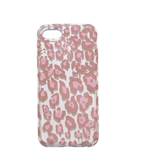 6/7/8 PINK LEOPARD PHONE CASE