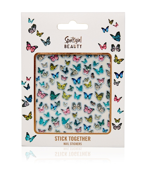 STICK TOGETHER NAIL STICKERS - BUTTERFLIES