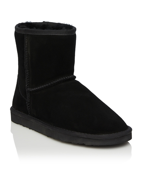 JILLAROO HIGH UGG BOOT - BLACK
