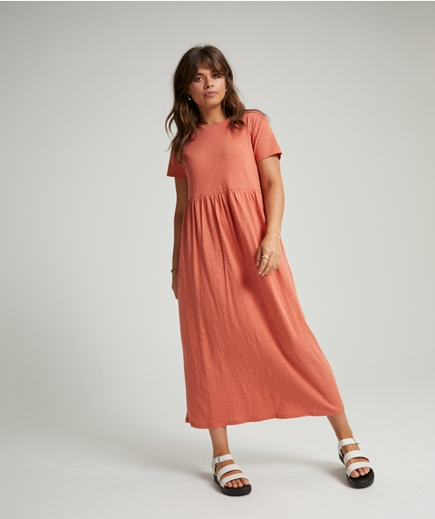 MAXI BABYDOLL TEE DRESS