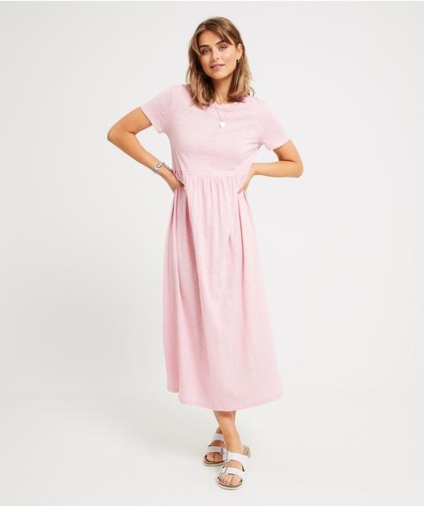 MAXI BABYDOLL TEE DRESS