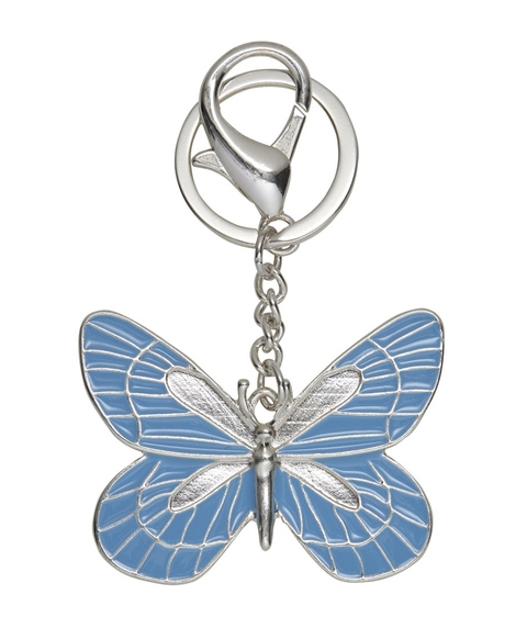 PASTEL BUTTERFLY KEYRING