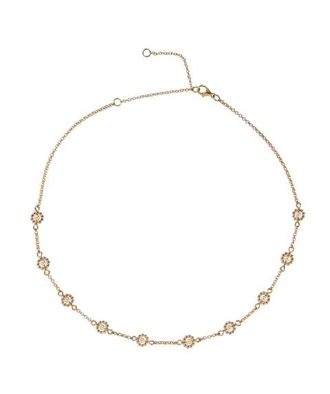 STATIONED DAISY NECKLACE