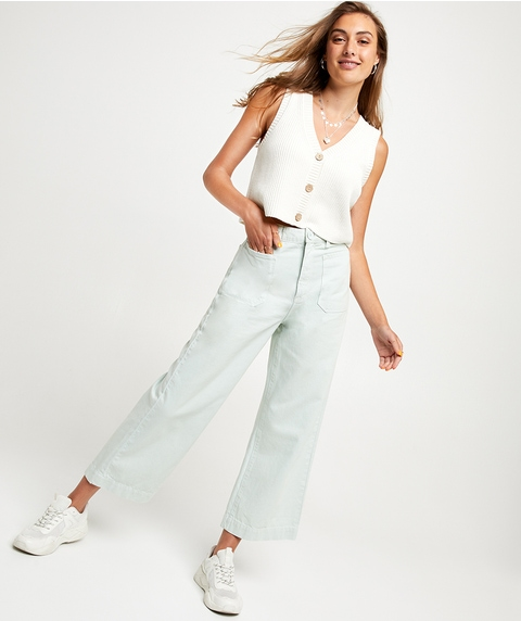 THE FRANKIE - HIGH RISE, WIDE LEG JEAN