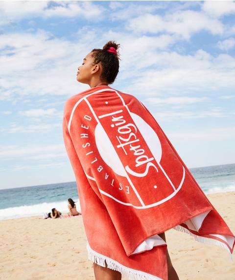PARADISE BOUND - BEACH TOWEL