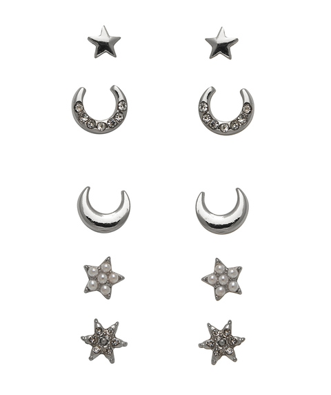 ECO - SILVER CELESTIAL STUD PACK