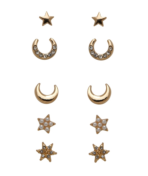 ECO - GOLD CELESTIAL STUD PACK