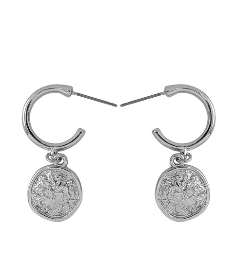 ECO - SILVER ANCIENT COIN EARRING