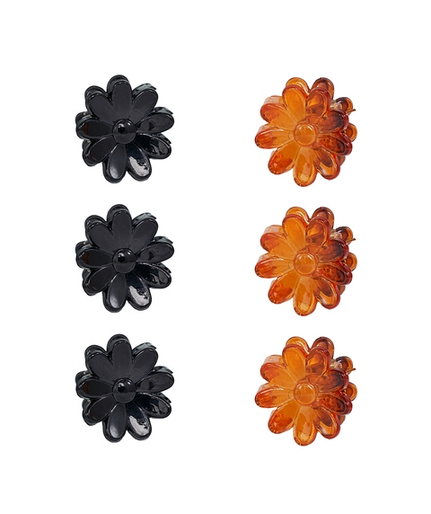 DAISY MINI CLAW HAIR CLIP PACK