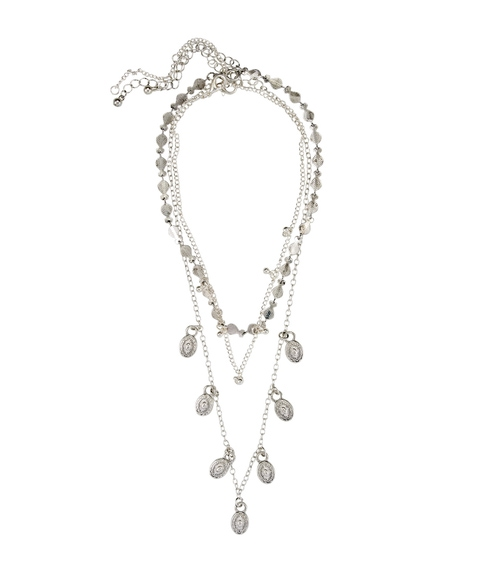 SILVER BOHO MIXED CHAIN NECKLACE PACK
