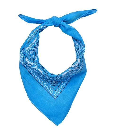 BLAKE BANDADA SCARF - BLUE