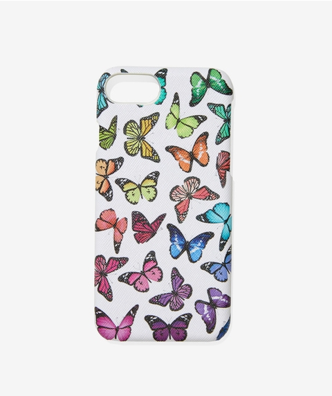7/8 COLOURFUL BUTTERFLY PHONE CASE