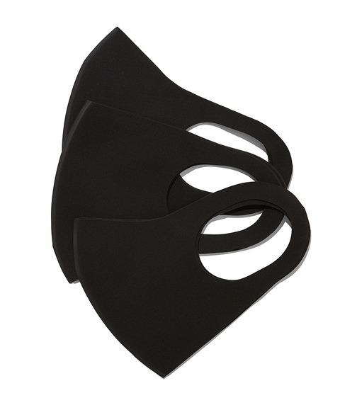 FASHION FACE COVERING PACK - BLACK