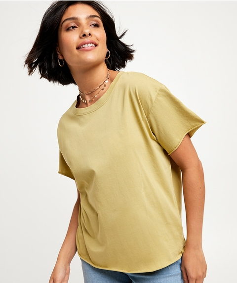 SLOUCHY WASHED TEE