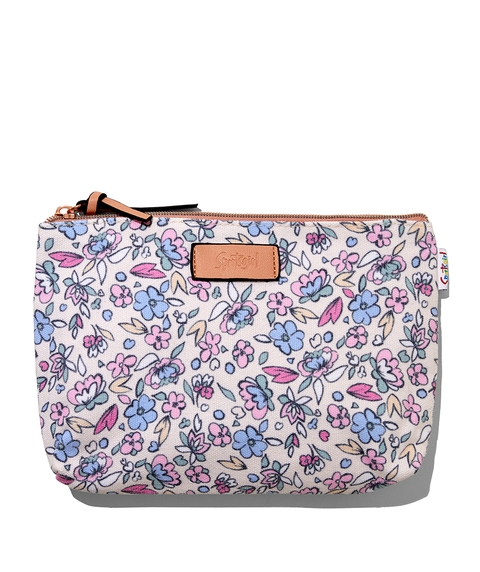 EMILY FLORAL BEAUTY BAG