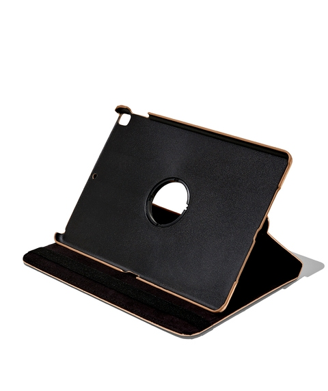 ROSE GOLD SAFFIANO IPAD CASE