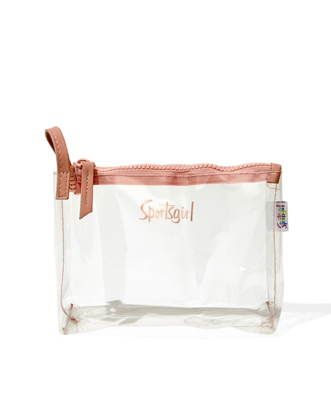 MARNIE BEAUTY BAG - CLEAR