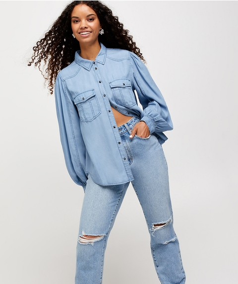 VINTAGE DENIM SHIRT