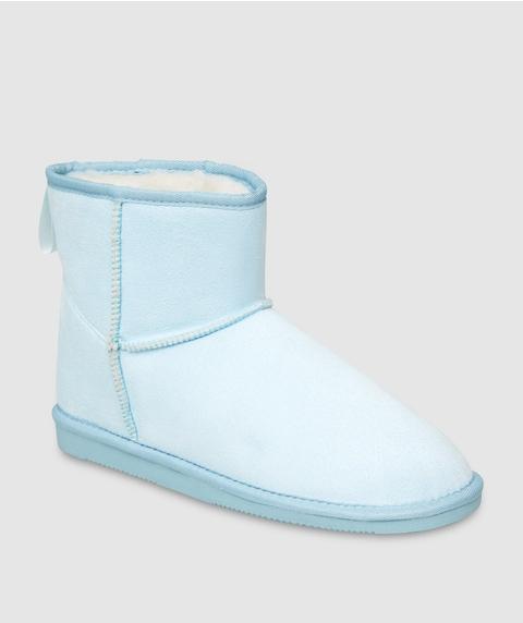 REWIND SLIPPER BOOT - BLUE