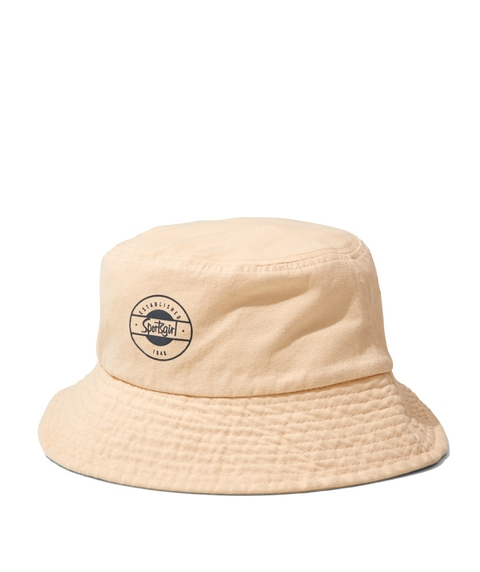 REWIND BUCKET HAT - ECRU
